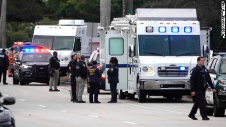 Two FBI agents from crimes against children unit killed and three agents wounded in South Florida shootout