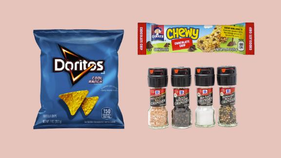 Snacks, drinks and more from Amazon