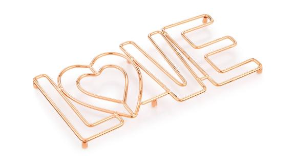 Martha Stewart Collection Love Trivet