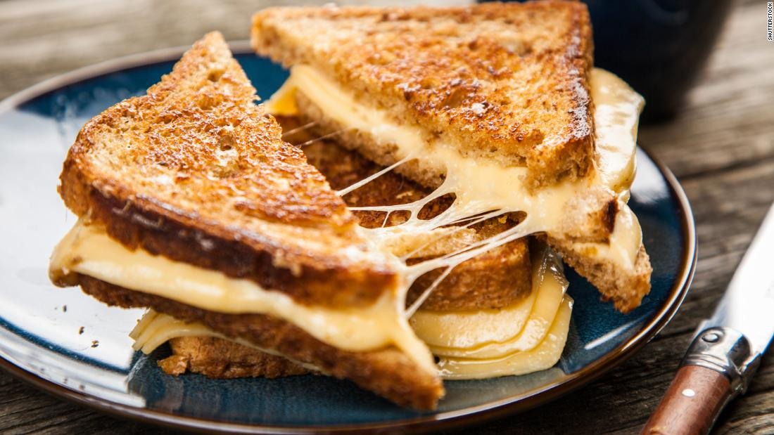 Go easy on yourself Thursday and make grilled cheese sandwiches for dinner.