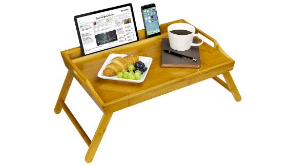 Rossie Bamboo Home Media Bed Tray