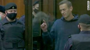Anger pours onto Moscow streets after Navalny sentencing