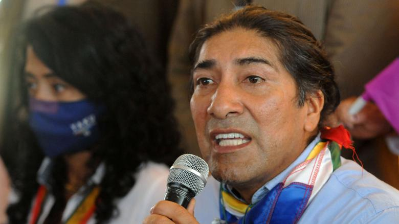 Indigenous leader becomes surprise contender in Ecuador's presidential election