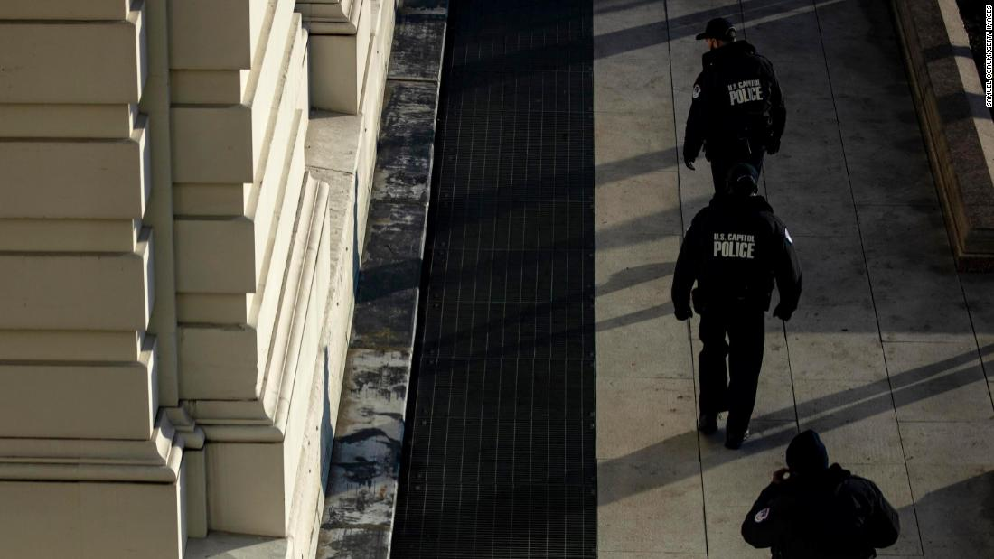 Capitol Police union chair: 'We are struggling to meet existing mission requirements' – CNN