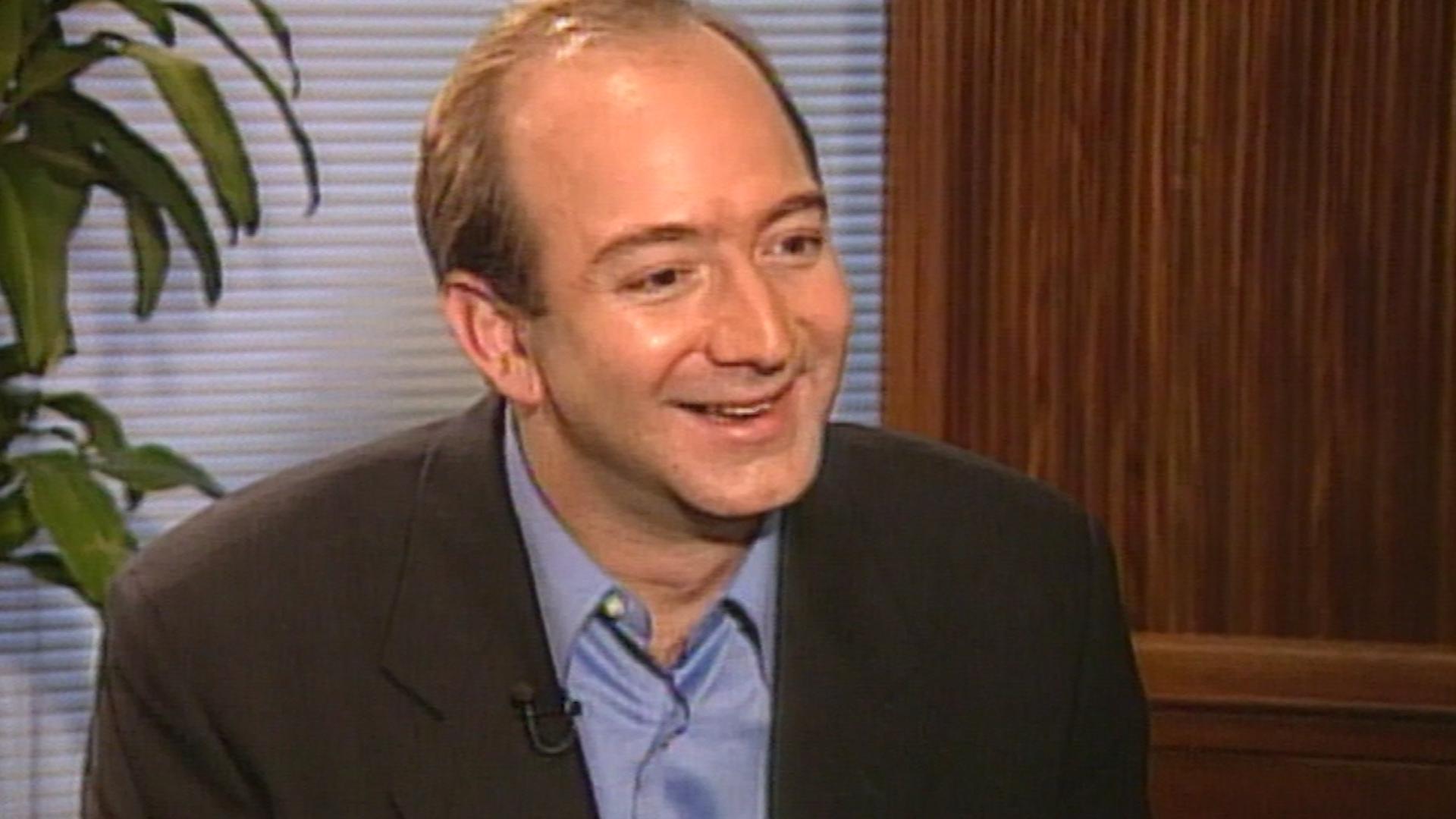 In 1999 Jeff Bezos told CNN he was ...