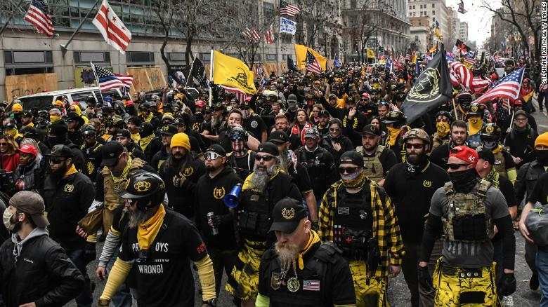 Canada will list the Proud Boys movement as a terrorist group