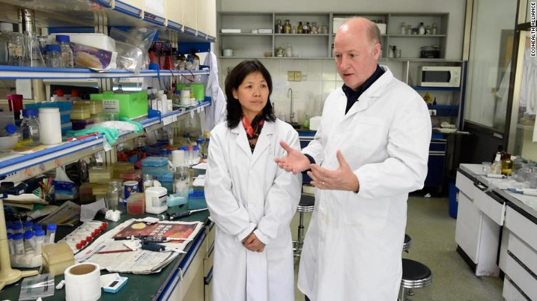 Dr. Shi Zhengli of the Wuhan Institute of Virology is seen touring her lab with Peter Daszak, president of the EcoHealth Alliance, in a video from 2014.