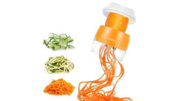 Adoric 3-in-1 Handheld Spiralizer Vegetable Slicer