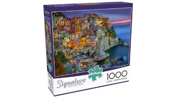 Buffalo Games Cinque Terre 1000-Piece Jigsaw Puzzle