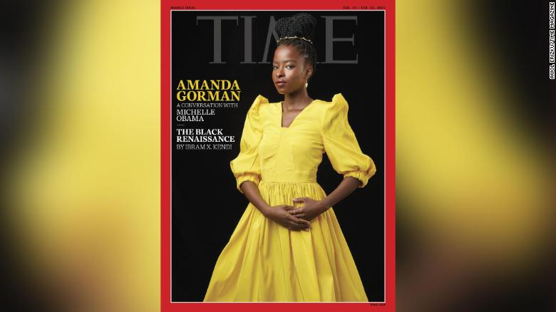 Michelle Obama interviews Amanda Gorman for Time about impostor syndrome and making poetry 'cool'