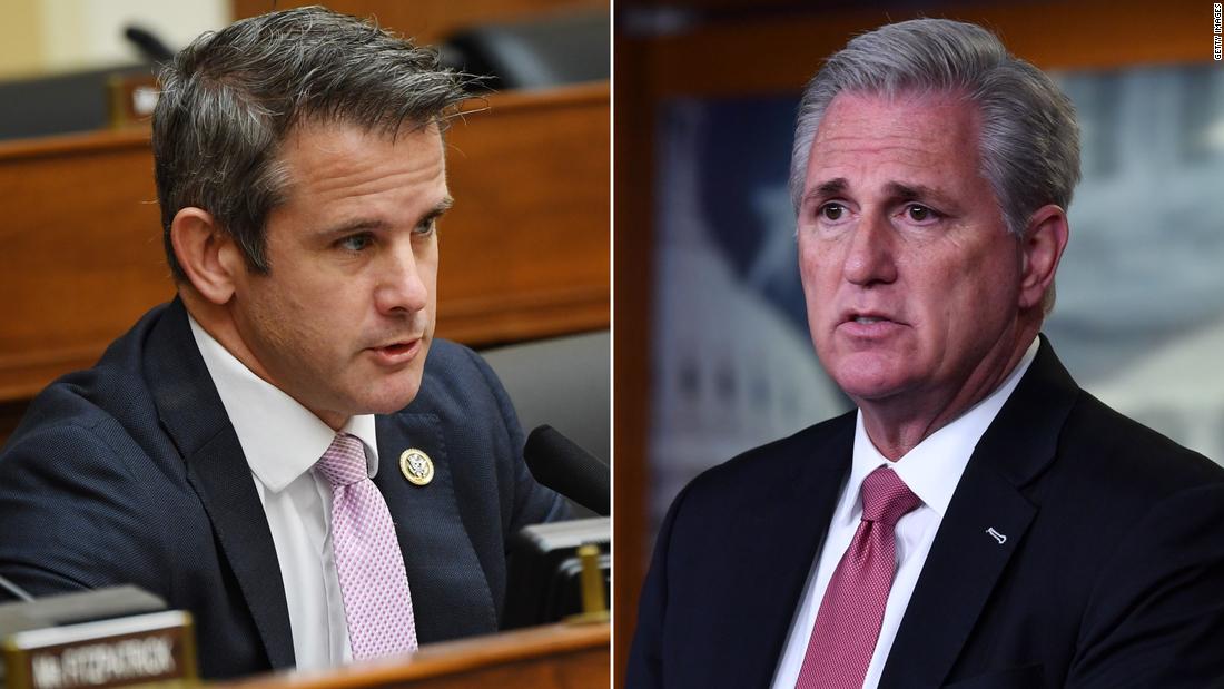 Kinzinger says McCarthy dismissed warnings about post-election violence