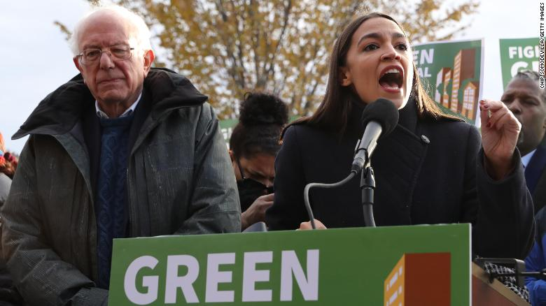 Sanders, Ocasio-Cortez, and Blumenauer unveil bill pushing Biden to declare national climate emergency: 'We are out of time'