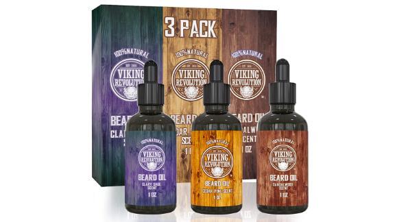 Viking Revolution Beard Oil 3 Pack