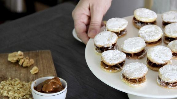 Argentine Alfajores and Homemade Dulce de Leche