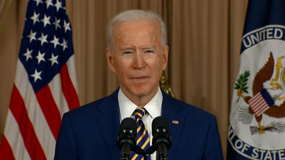 Image for Biden declares 'America is back' as he announces major foreign policy shifts