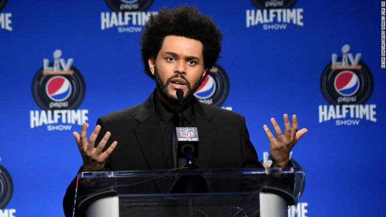 The Weeknd explains why he'll be performing solo at the Super Bowl