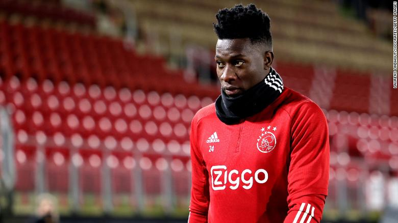 Ajax goalkeeper Andre Onana calls 12-month doping suspension 'excessive and disproportionate'