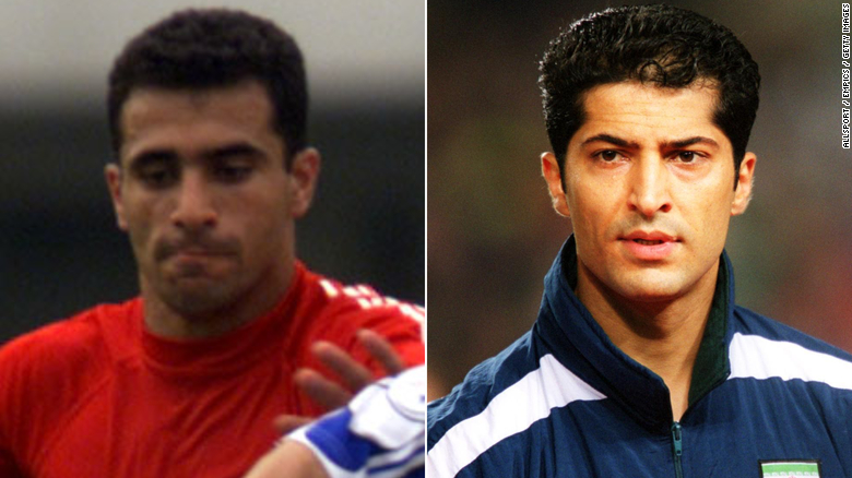 Two former Iranian national team footballers die from Covid-19 within a week of each other after appearing on a TV special aired online