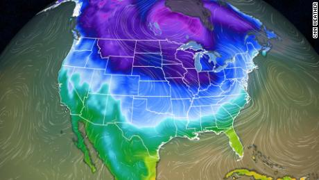 It will be very cold this weekend in the northern United States, and you may get frostbite in under 10 minutes.