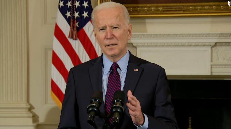 Biden says Trump should no longer receive classified intelligence briefings