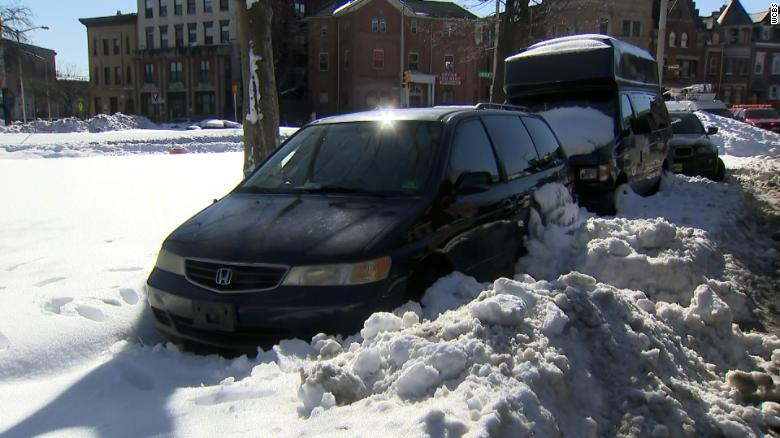 77-year-old woman rescued after being trapped inside her van for four days after winter storm