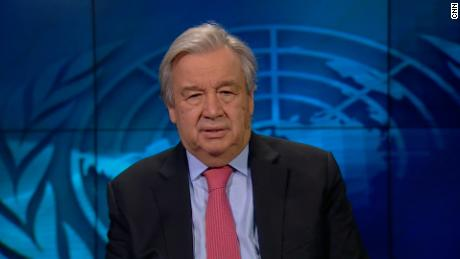 United Nations Secretary General António Guterres speaks with CNN's Becky Anderson about why a global vaccination program is needed to eradicate Covid-19.