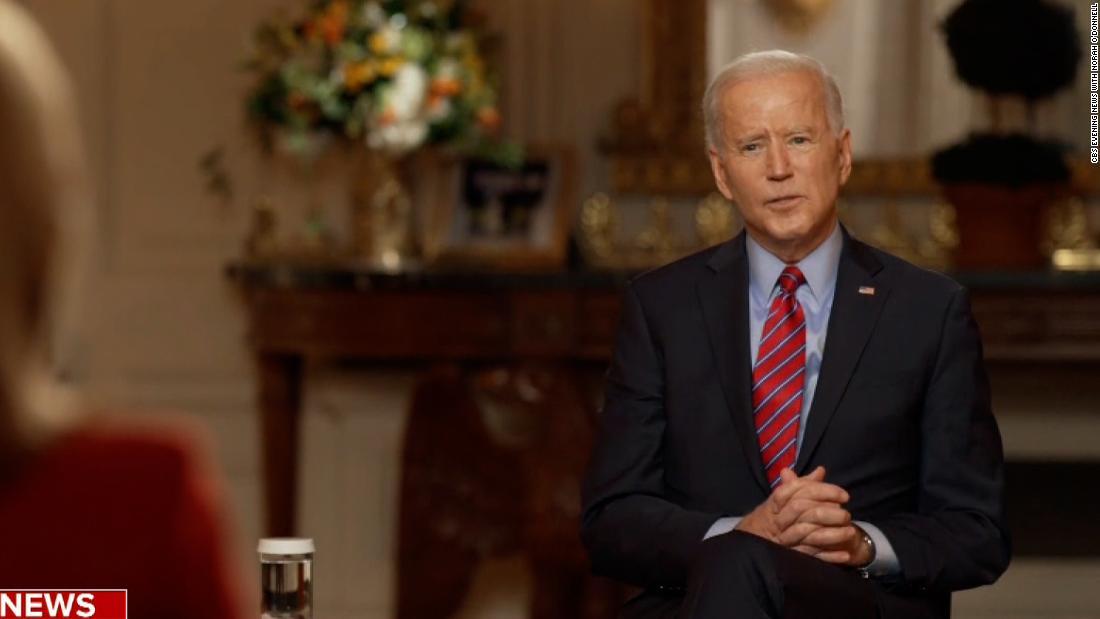 Biden doesn't believe minimum wage hike will survive relief bill - CNN Video