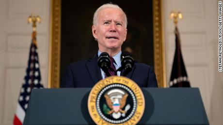 Biden says closed schools and loss of women in workforce is a 'national emergency'