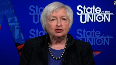 Yellen: US could reach full employment next year if Congress passes Biden's stimulus plan
