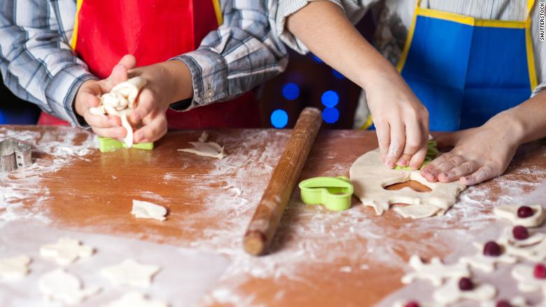 Enlist your kids in a simple baking project.