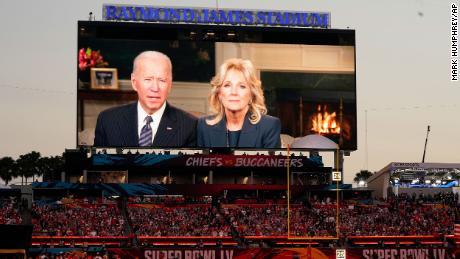 Biden laments lack of Black NFL coaches during Super Bowl halftime interview