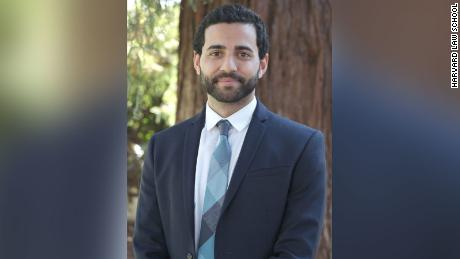Hassaan Shahawy, the first Muslim president of the Harvard Law Review, is a second-year student at Harvard Law School.