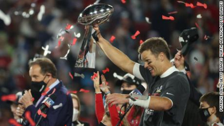 Both wins come shortly before Tom Brady, 43, secures a seventh Super Bowl title