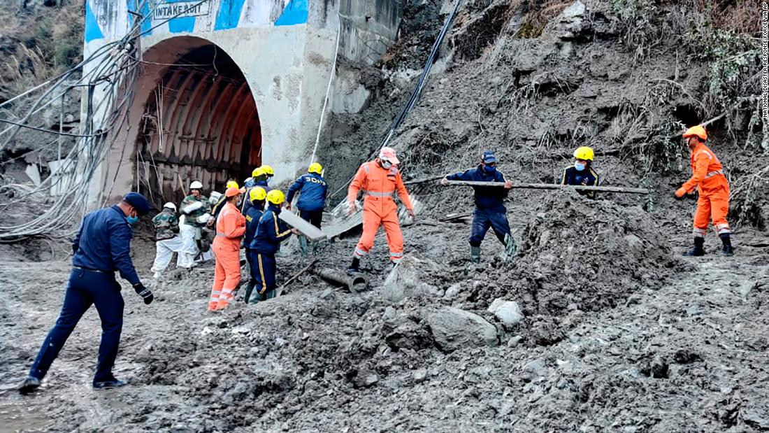 Large-scale rescue operation underway after flooding from India glacier burst