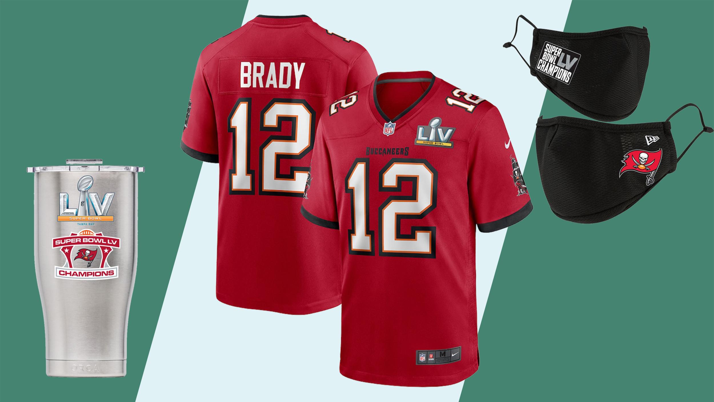 Super Bowl merchandise celebrating the Buccaneers' win   CNN