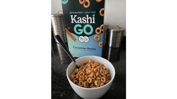 Kashi Go Keto Cinnamon Vanilla Cereal