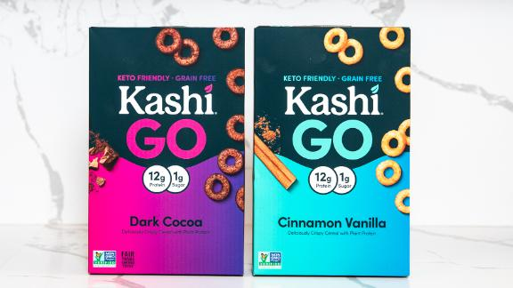 Kashi's new line of keto-friendly cereal