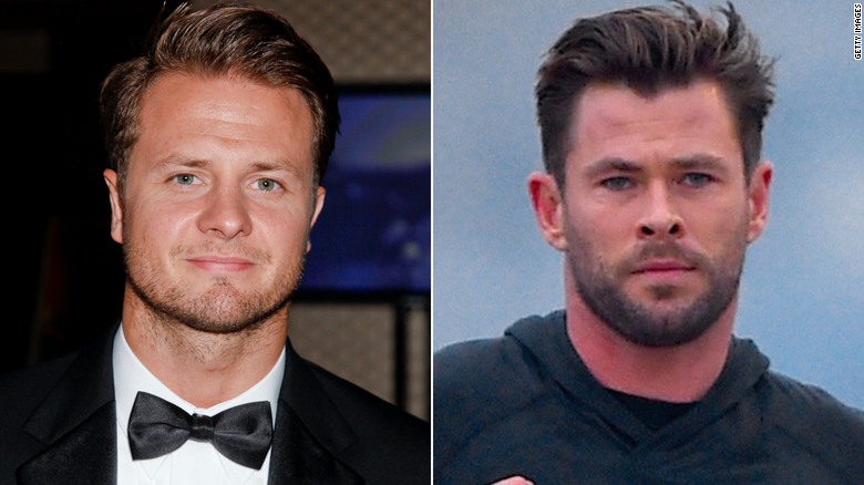 Chris Hemsworth's stunt double says he's struggling to keep up with the star's weight gain