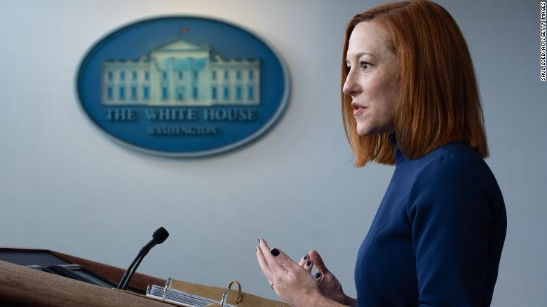 Psaki defends Biden administration's school reopening goal as 'not the ceiling'