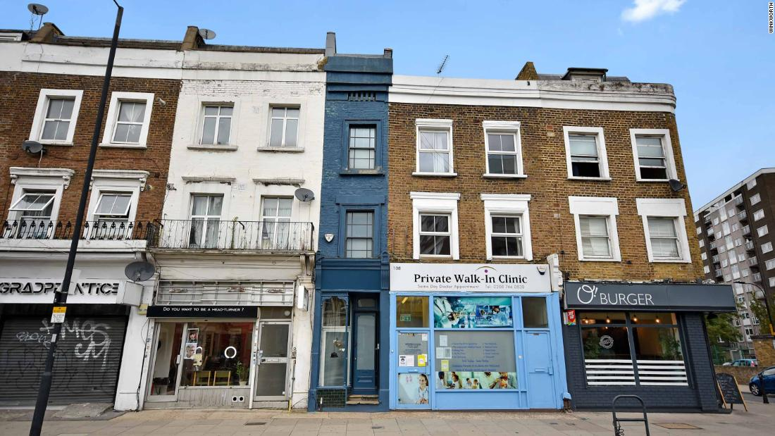 Just six feet wide, 'London's skinniest house' is for sale for $1.3 million - CNN