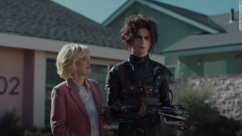 Winona Ryder says it felt 'surreal' playing Timothée Chalamet's mom in Super Bowl ad
