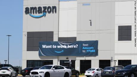 Tensions high at Amazon warehouse as milestone union vote gets underway