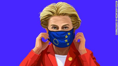 Elle est l'une des femmes les plus puissantes d'Europe.  Un différend sur un vaccin pourrait faire dérailler ses grands projets pour le continent