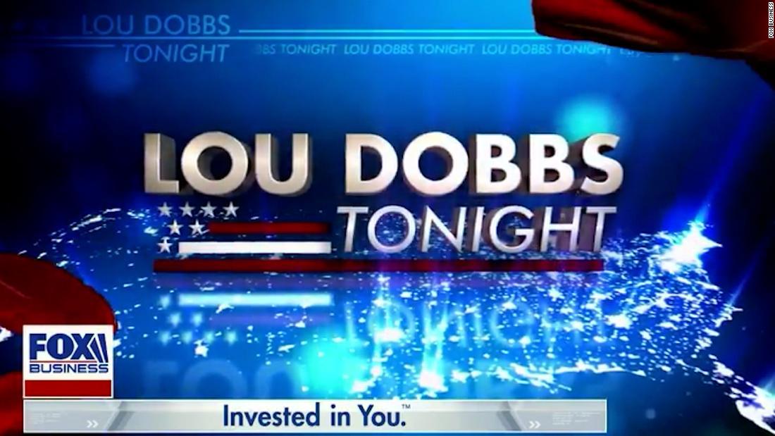 Watch how guest host opened 'Lou Dobbs Tonight' as Fox was canceling it - CNN Video