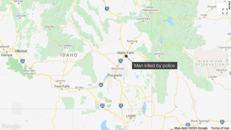 Idaho police say they shot and killed a man in his own front yard after mistaking him for a suspect