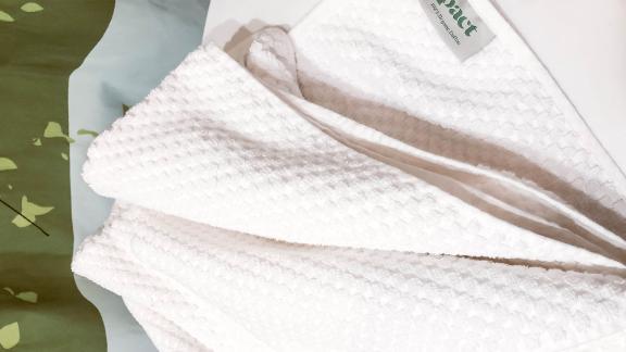 Pact Waffle Bath Towel