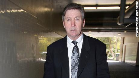 Britney Spears' father, Jamie Spears, leaves the Los Angeles County Superior courthouse on March 10, 2008.