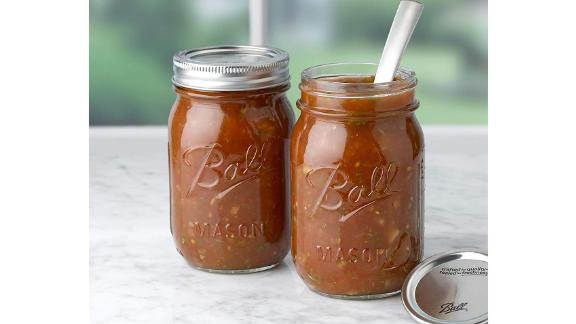Ball Regular Mouth Mason Jars With Lids, 8-Pack