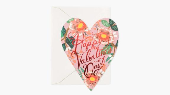 Rifle Paper Co. Heart Blossom Valentine Greeting Card