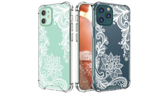 Cutebe Cute Clear Crystal Case for iPhone 12 & 12 Pro